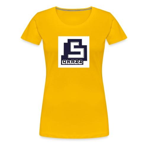 SOKAZZ LOGO - Premium T-skjorte for kvinner