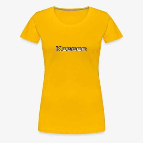 Kobbor In Grey - Women's Premium T-Shirt