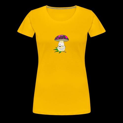 Pilz-Logo foodporn - Frauen Premium T-Shirt