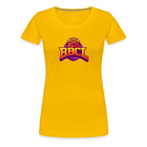 BasketBall du Canton de Limours - T-shirt Premium Femme