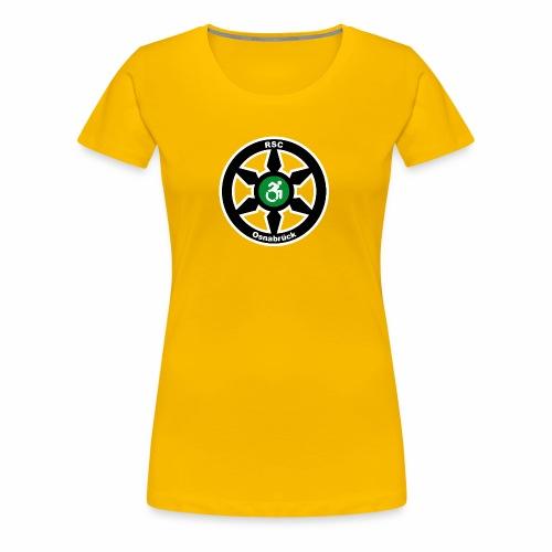 RSClogoRandweissDick - Frauen Premium T-Shirt