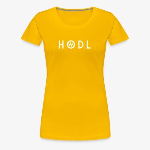 Hodle Steemit - Women's Premium T-Shirt