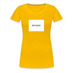 MR SIGGE - Premium-T-shirt dam