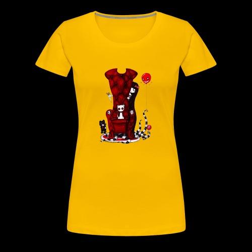 Cruelle petite fille - T-shirt Premium Femme