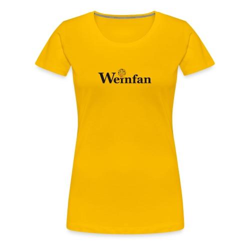 Weinfan Traube 1 - Frauen Premium T-Shirt
