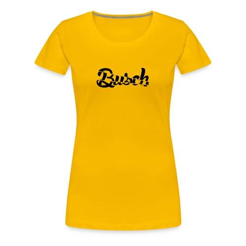 Busch shatter black - Vrouwen Premium T-shirt