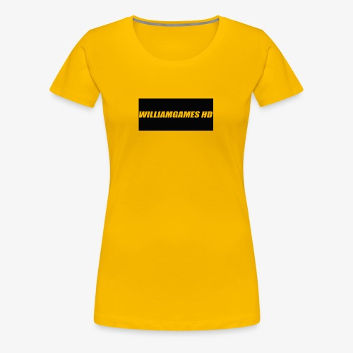 william shirt logo - Women's Premium T-Shirt
