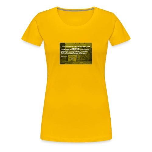 Oddać życie za bliźnich - Koszulka damska Premium