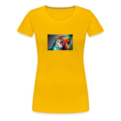 hero lion - T-shirt Premium Femme