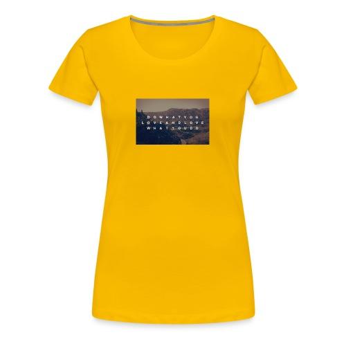 Life - Premium-T-shirt dam