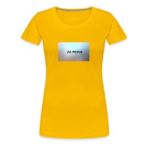FA Media - Women's Premium T-Shirt