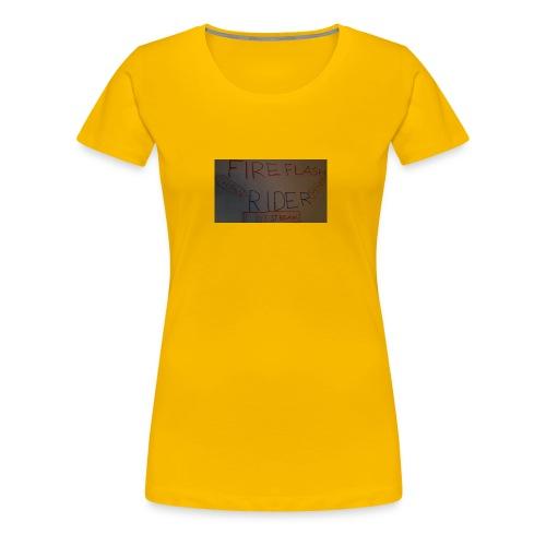 Fireflashriders shirt - Frauen Premium T-Shirt