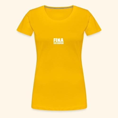 Fina Squaden - Premium T-skjorte for kvinner