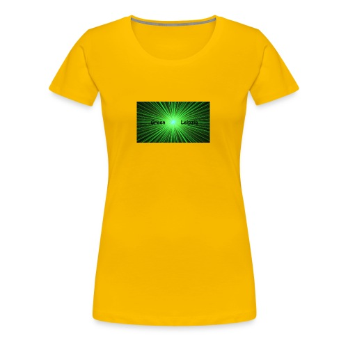 Green Leipzig - Frauen Premium T-Shirt