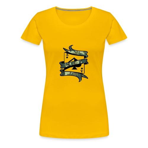 ASSCAMO - Frauen Premium T-Shirt