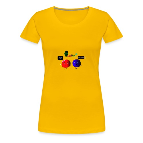 Diseño parchís camiseta - Camiseta premium mujer