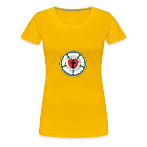 Luther Rose - Women's Premium T-Shirt