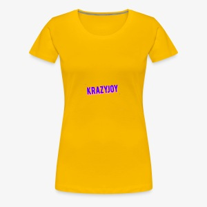 KrazyJoy - Women's Premium T-Shirt