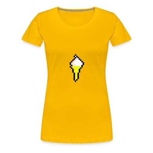 Ice Cream Cone - Women's Premium T-Shirt