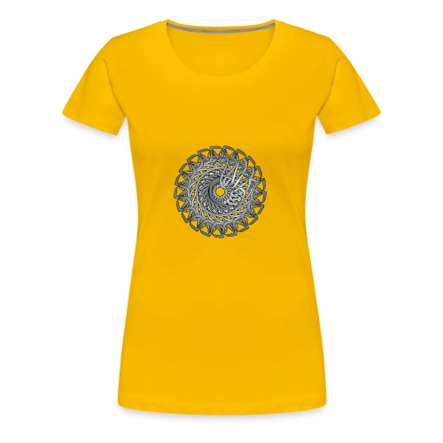 Círculo Original - Camiseta premium mujer