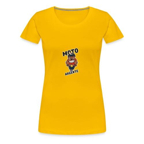 moto argente - T-shirt Premium Femme