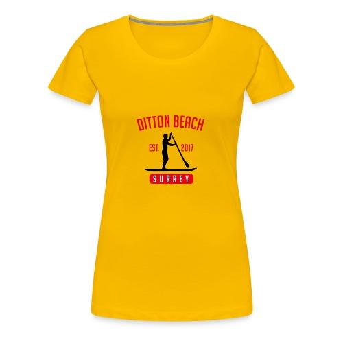 Ditton Beach Logo Final - Women's Premium T-Shirt