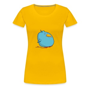 BlueBird Bird - Frauen Premium T-Shirt