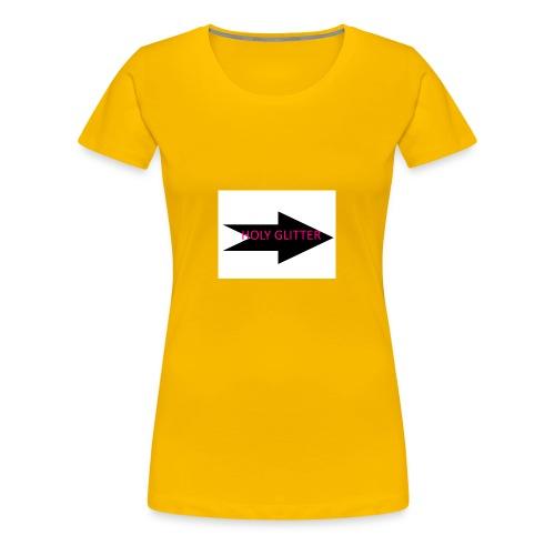 HOLLY GLITTER - Vrouwen Premium T-shirt