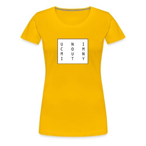 uni logo - Frauen Premium T-Shirt
