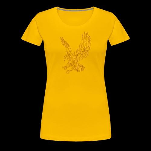 Eagle circuit - Dame premium T-shirt