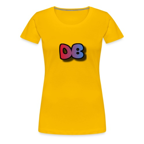Double Games DB - Vrouwen Premium T-shirt
