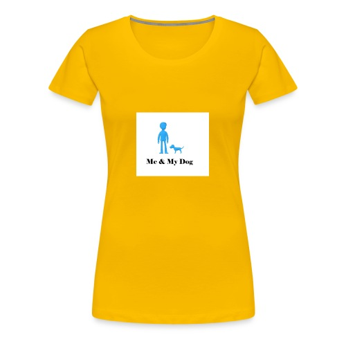 Me and My Dog - Women's Premium T-Shirt