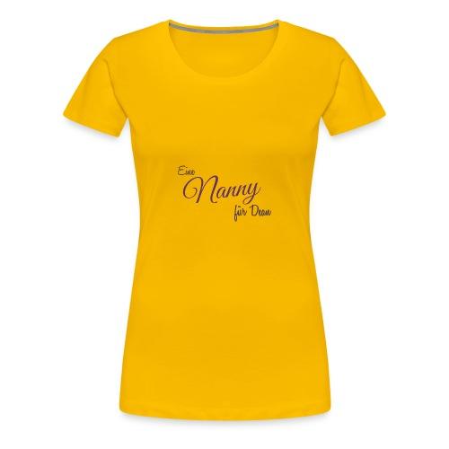 Schriftzug ENfD - Frauen Premium T-Shirt