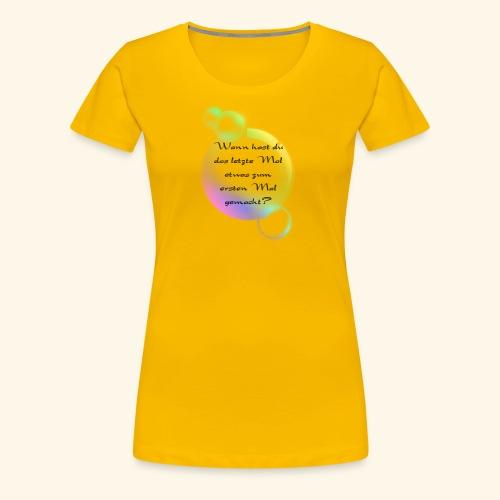 Seifenblasen - Frauen Premium T-Shirt