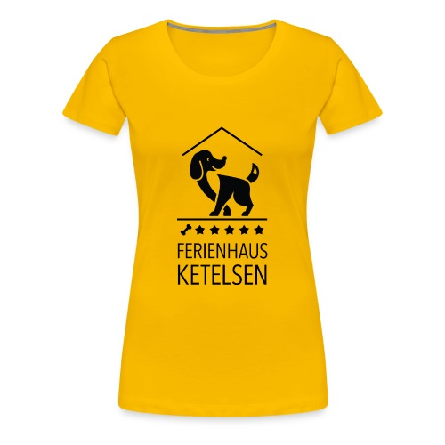 Ferienhaus-Ketelsen - Frauen Premium T-Shirt