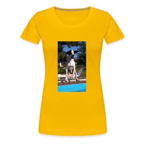 Süßer Hund - Frauen Premium T-Shirt