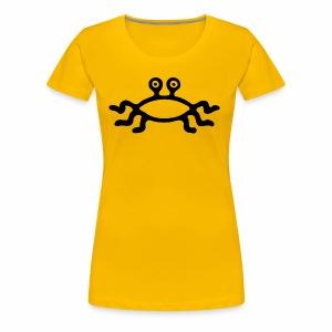 Latający Potwór Spaghetti - symbol LPS - Koszulka damska Premium