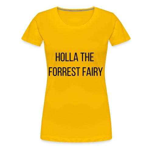Holla Bebas - Frauen Premium T-Shirt