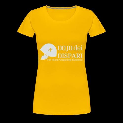 Logo con scritta grigio - Maglietta Premium da donna