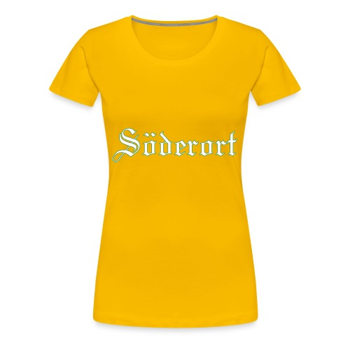 Söderort - Premium-T-shirt dam