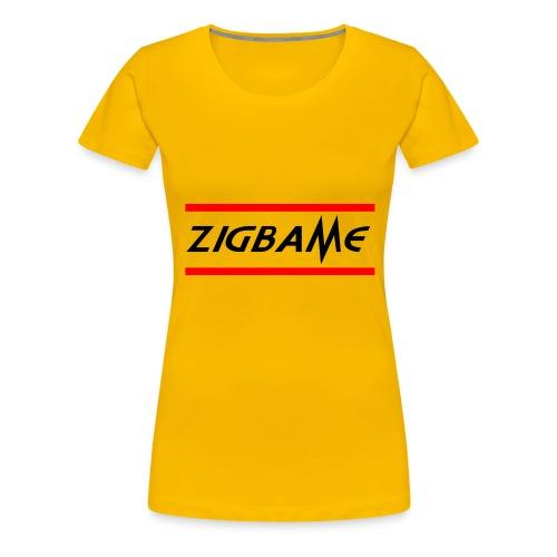 Zigbame - T-shirt Premium Femme