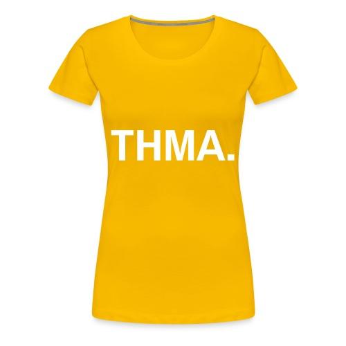 thma pet - Vrouwen Premium T-shirt
