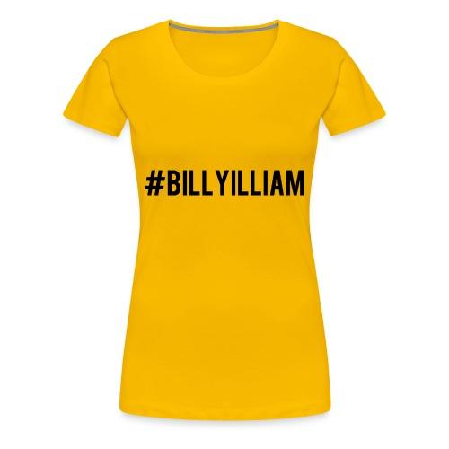 Billyilliam - Women's Premium T-Shirt