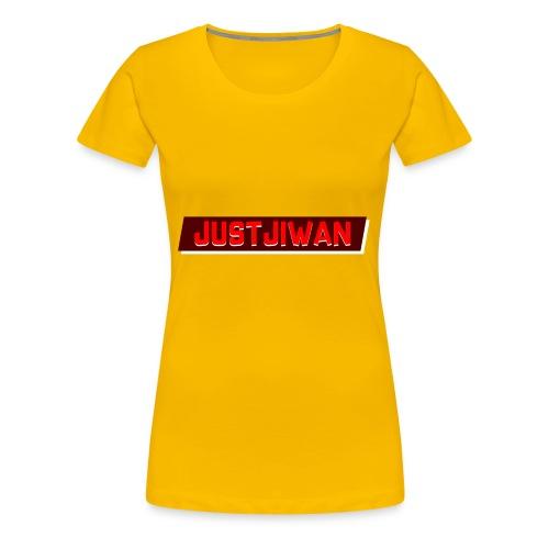 JustJiwan Snapback - Vrouwen Premium T-shirt