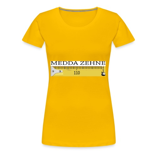 MEDDA ZEHNE - Frauen Premium T-Shirt