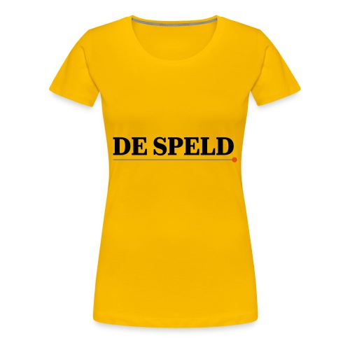 De Speld - Vrouwen Premium T-shirt