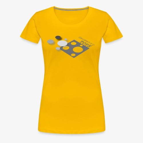 Geometry Toys - Women's Premium T-Shirt