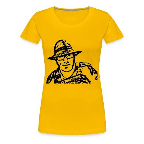 Rigotti LogoSW Transparent - Frauen Premium T-Shirt