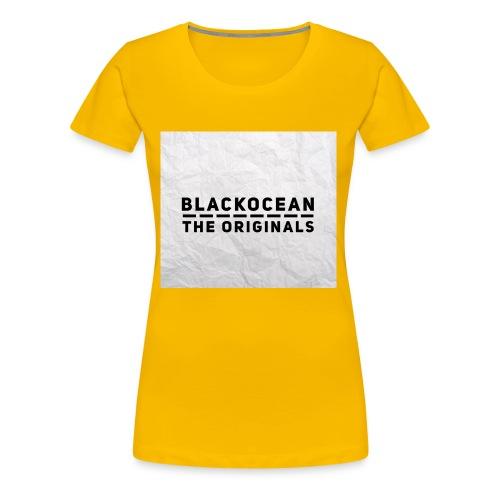 "BlackOcean ""The Originals"" Kollektion - Frauen Premium T-Shirt"