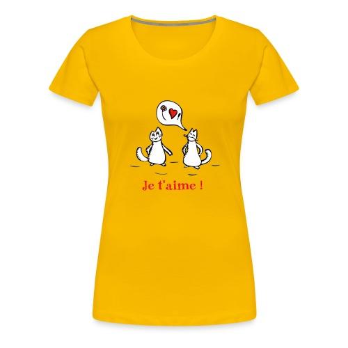 Ah, l'amour ! - T-shirt Premium Femme